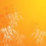 Fondo astratto con bambù Immagine Stock Libera da Diritti