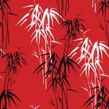 Fondo astratto con bambù Immagini Stock Libere da Diritti