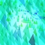 Fondo astratto con gli elementi triangolari Immagini Stock Libere da Diritti