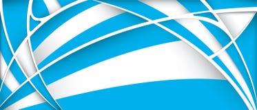 Fondo astratto con i colori della bandiera dell'Argentina illustrazione vettoriale