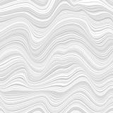 Fondo astratto con i lotti delle linee torte illustrazione vettoriale