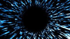 Fondo astratto con il buco nero Illustraton dello spazio di Digital rappresentazione 3d royalty illustrazione gratis