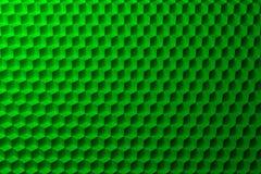Fondo astratto con il modello verde dei cubi Immagini Stock