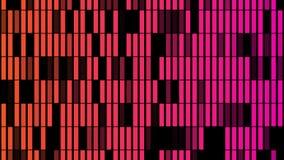Fondo astratto con l'animazione delle particelle della luce intermittente immagini stock libere da diritti