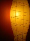 Fondo astratto con la lampada di illuminazione Fotografia Stock
