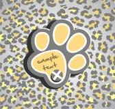 Stampa del leopardo Immagine Stock Libera da Diritti