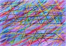 Fondo astratto con le bande multicolori immagini stock libere da diritti