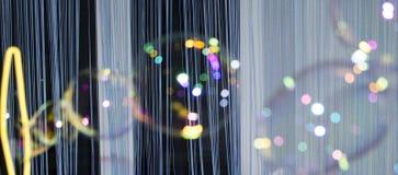 Fondo astratto con le bolle di sapone fotografia stock libera da diritti