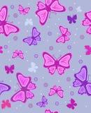 Fondo astratto con le farfalle. Illus di vettore fotografia stock libera da diritti