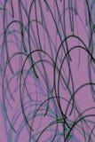 Fondo astratto con le linee curve Fotografia Stock