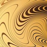 Fondo astratto con le linee distorte La curvatura di spazio Moto fluido royalty illustrazione gratis
