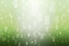 Fondo astratto con verde e luci bianche Immagini Stock Libere da Diritti