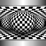 Fondo astratto 3D Fotografia Stock