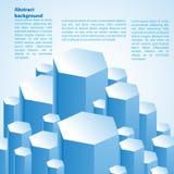 Fondo astratto 3d-dimensional Immagini Stock Libere da Diritti