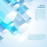 Fondo astratto 3d-dimensional Fotografia Stock