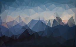 Fondo astratto dalle forme del triangolo Fotografia Stock