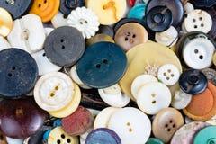 Fondo astratto dei bottoni Fotografia Stock Libera da Diritti