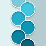 Fondo astratto 1 del cerchio Fotografia Stock