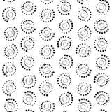 Fondo astratto del cerchio dei punti rappresentazione 3d illustrazione di stock