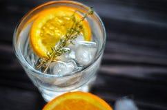 Fondo astratto del cocktail con lo spazio della copia Fotografie Stock