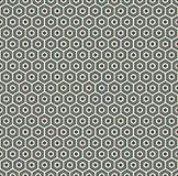 Fondo astratto del favo I colori blu hanno ripetuto la carta da parati del mosaico delle mattonelle di esagono Modello senza cuci Fotografia Stock