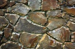 Fondo astratto del lavoro in pietra Fotografia Stock Libera da Diritti
