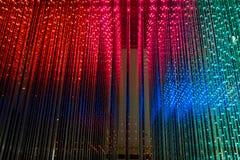 Fondo astratto del LED di colore di multipli Fotografie Stock