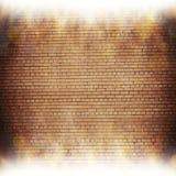 Fondo astratto del mattone effetti della luce confusi Immagini Stock Libere da Diritti