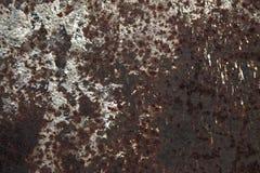 Fondo astratto del metallo della ruggine Immagini Stock Libere da Diritti