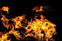 Fondo astratto del modello del fuoco Fotografia Stock Libera da Diritti
