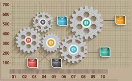 Fondo astratto del modello di progettazione. Fotografia Stock