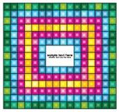 Fondo astratto del mosaico Fotografia Stock