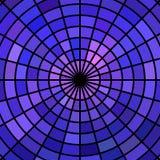 Fondo astratto del mosaico del vetro macchiato di vettore Fotografia Stock Libera da Diritti