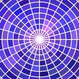 Fondo astratto del mosaico del vetro macchiato di vettore Immagini Stock Libere da Diritti