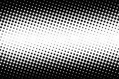 Fondo astratto del nero del cerchio Immagine Stock