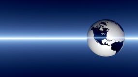 Fondo astratto del pianeta Terra Fotografie Stock Libere da Diritti