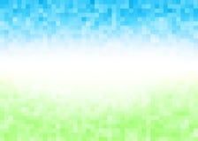 Fondo astratto del pixel di pendenza Immagini Stock