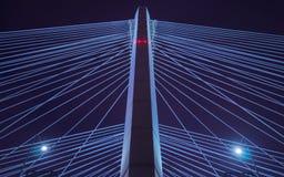 Fondo astratto del ponte Fotografie Stock Libere da Diritti