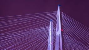 Fondo astratto del ponte Fotografia Stock