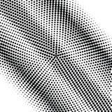Fondo astratto del semitono di gradazione di grigio Fotografie Stock Libere da Diritti