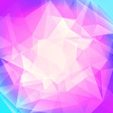 Fondo astratto del triangolo di pendenza Fotografia Stock