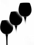Fondo astratto del vino Immagini Stock