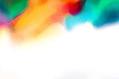 Fondo astratto dell'acquerello immagini stock