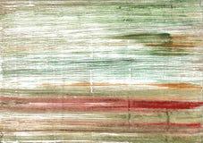 Fondo astratto dell'acquerello del carciofo Fotografia Stock