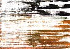 Fondo astratto dell'acquerello della liquirizia Fotografia Stock