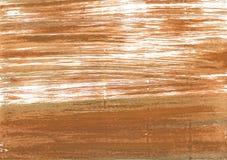 Fondo astratto dell'acquerello della noce di cocco Fotografia Stock