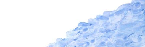 Fondo astratto dell'acquerello, insegne porpora di progettazione della pittura della mano dell'acquerello illustrazione di stock