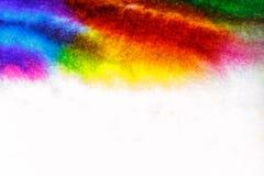 Fondo astratto dell'acquerello, primo piano Fotografia Stock