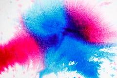 Fondo astratto dell'acquerello, primo piano Fotografie Stock Libere da Diritti