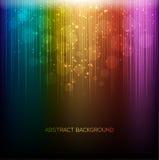 Fondo astratto dell'arcobaleno Immagini Stock